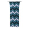 KESS InHouse Chevron Dance Curtain Panels (Set of 2)