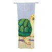 KESS InHouse Slow And Steady Curtain Panels (Set of 2)