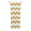 KESS InHouse Candy Cane Curtain Panels (Set of 2)