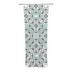KESS InHouse Winter Pool Curtain Panels (Set of 2)