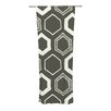 KESS InHouse Hexy Curtain Panels (Set of 2)