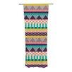 KESS InHouse Decorative Stripes Curtain Panels (Set of 2)