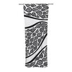 KESS InHouse Bird in Disguise Curtain Panels (Set of 2)