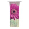 KESS InHouse Pretty Daisy Curtain Panels (Set of 2)