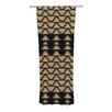 KESS InHouse Deco Angles Curtain Panels (Set of 2)