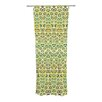KESS InHouse Animal Temple Curtain Panels (Set of 2)
