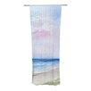 KESS InHouse Wet Sand Curtain Panels (Set of 2)