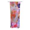 KESS InHouse Painterly Blush Curtain Panels (Set of 2)