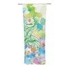 KESS InHouse Leaf Bouquet Curtain Panels (Set of 2)