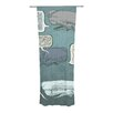 KESS InHouse Whale Talk Curtain Panels (Set of 2)