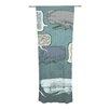 KESS InHouse Whale Talk Curtain Panels (Set of 2)