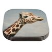 KESS InHouse Giraffe by Angie Turner Coaster (Set of 4)