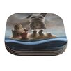 KESS InHouse Grover by Graham Curran Coaster (Set of 4)