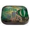 KESS InHouse Boston by iRuz33 Coaster (Set of 4)