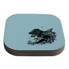 KESS InHouse The Blanket II by Graham Curran Coaster (Set of 4)