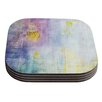 KESS InHouse Color Grunge by Iris Lehnhardt Coaster (Set of 4)