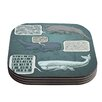 KESS InHouse Whale Talk by Sophy Tuttle Coaster (Set of 4)