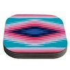 KESS InHouse Surf Lovin II by Nika Martinez Coaster (Set of 4)