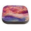 KESS InHouse Souffle Sky by Nikki Strange Coaster (Set of 4)