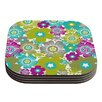 KESS InHouse Little Bloom by Nicole Ketchum Coaster (Set of 4)