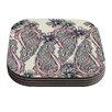 KESS InHouse Inky Paisley Bloom by Sonal Nathwani Coaster (Set of 4)
