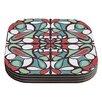 KESS InHouse Round Tiles by Miranda Mol Coaster (Set of 4)