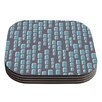 KESS InHouse Cubic Geek Chic by Michelle Drew Coaster (Set of 4)