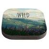 KESS InHouse Keep It Wild by Robin Dickinson Coaster (Set of 4)