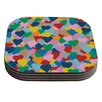 KESS InHouse More Hearts by Project M Coaster (Set of 4)
