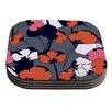 KESS InHouse Pop Flowers by Gabriela Fuente Coaster (Set of 4)