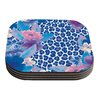 KESS InHouse Leopard by Aimee St. Hill Coaster (Set of 4)