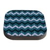 KESS InHouse Chevron Dance by Nick Atkinson Coaster (Set of 4)