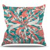 KESS InHouse Like Explosion by Danny Ivan Throw Pillow
