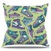 KESS InHouse Sneaker Lover IV by Brienne Jepkema Throw Pillow