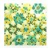 KESS InHouse Flower Garden Mosaic Graphic Art Plaque