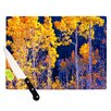KESS InHouse Trees Cutting Board