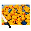 <strong>Duckies Cutting Board</strong> by KESS InHouse
