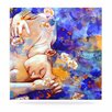 KESS InHouse A Deeper Sleep by Kira Crees Painting Print Plaque