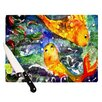 KESS InHouse Fantasy Fish Cutting Board