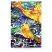 KESS InHouse Fantasy Fish by Rosie Brown Painting Print Plaque