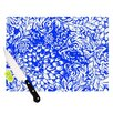 <strong>KESS InHouse</strong> Bloom Blue for You Cutting Board