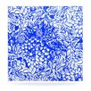 <strong>KESS InHouse</strong> Bloom Blue for You by Vikki Salmela Graphic Art Plaque