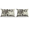 KESS InHouse Java Leaf Pillowcase