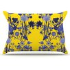 KESS InHouse Bloom Flower Pillowcase
