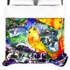 KESS InHouse Fantasy Fish Duvet Cover