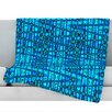 KESS InHouse Variblue Fleece Throw Blanket