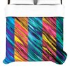 KESS InHouse Set Stripes I Duvet Cover