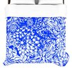 <strong>KESS InHouse</strong> Bloom Blue for You Duvet Cover