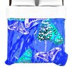 KESS InHouse Butterflies Party Duvet Cover