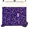 <strong>KESS InHouse</strong> Purple Dots Duvet Cover